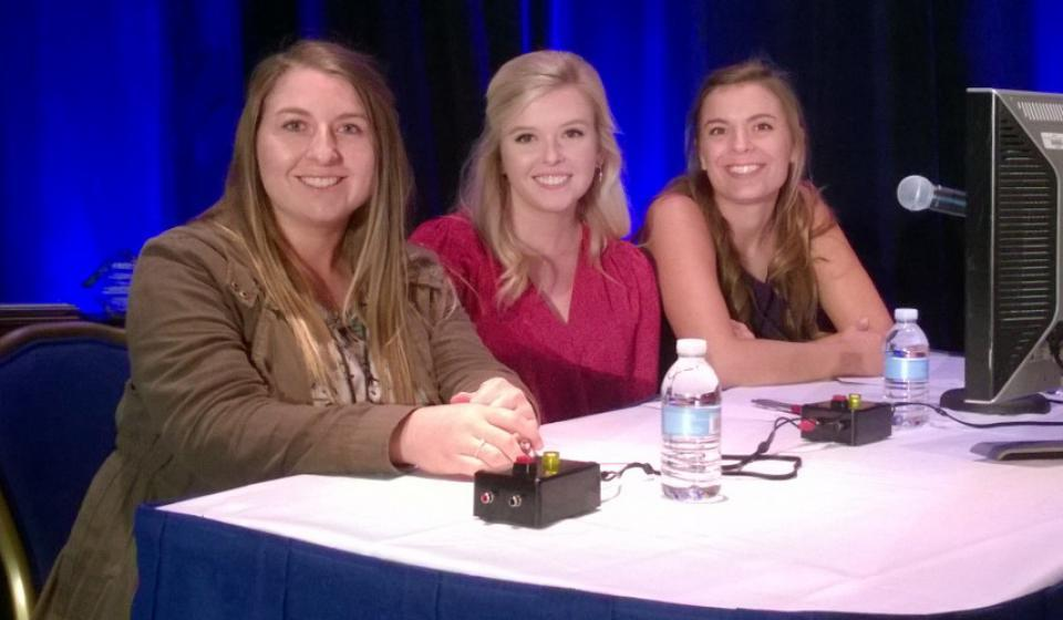 AEC Students participating in AAEA quiz bowl competition.